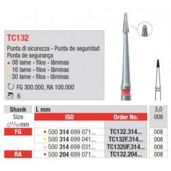 TC132.204.008 Grano Standard para Acabado 6 unid