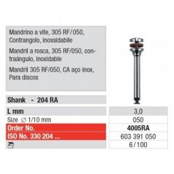 4005RA Mandril a Rosca 305RF/050 Contraángulo 6 unid