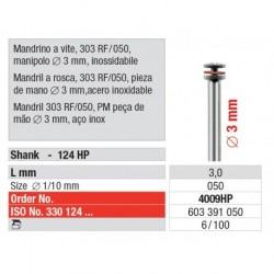 4009HP Mandril a Rosca 303 RF/050 Pieza de mano 100 unid