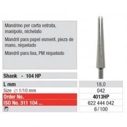 4013HP Mandril para Papel Esmeril 6 unid