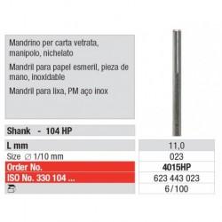 4015HP Mandril para Papel Esmeril 100 unid