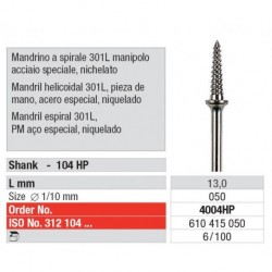 4004HP Mandril Para cilindros Helicoidal 301L 100 unid