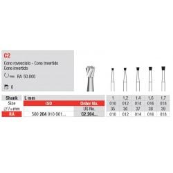 C2.204.012 Fresas Tungsteno Sólido RA 6 Unid.