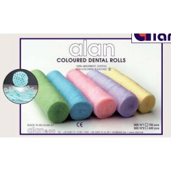Algodón en rollos Coloreados