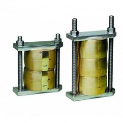 Brida para Prensa Acero Inox. 2 Muflas Mestra R-030400