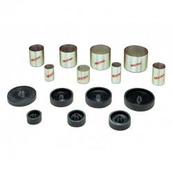 Cilindros de Acero Inox. para Colados Ø80x60 mm(9x) Mestra.