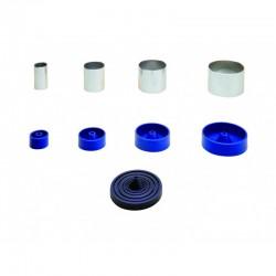 Cilindros de Acero Inox. para Colados Ø 77x55x1,5 mm (9x) Mestra
