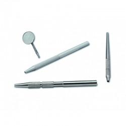 Mango para espejos de Aluminio Anodizado 1u. R-070020
