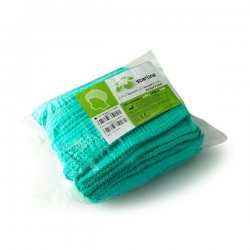 Cofia/Gorro BOUFFANT Verde 50 cm. Elast. 100 uds