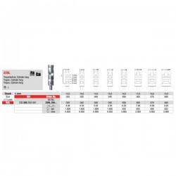 Fresa Para Implantes 229L.205.080 1 unid