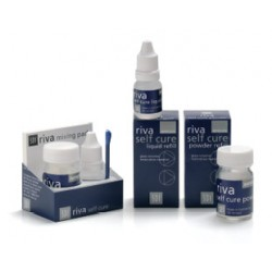 Riva Self Cure Ionomero de Vidrio para Restauración polvo/líquid