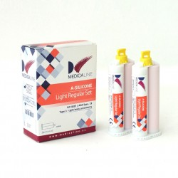 SILICONA MEDICALINE LIGHT SET 2x50ml.