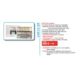 Kit Completo Enamel Plus HFO 15 Colores