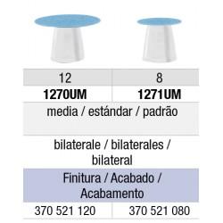 1270UM Discos de Pulido de Composite Flexi-Snap edenta 50 unid