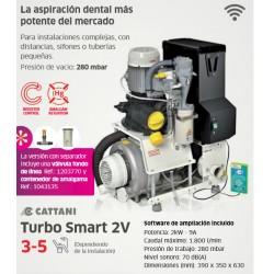 AspiraciónTurbo Smart 2V Sin Separador De Amalgama - Cattani