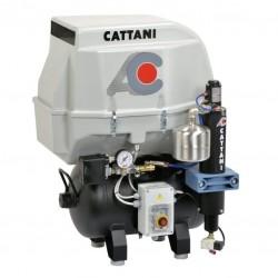 Compresor Cattani AC100Q Insonorizado 1 Cilindro y Secador
