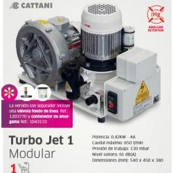 Aspiración Turbo Jet Cattani 1 Equipo