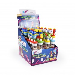 SET LAPICES DE COLORES JUNIOR 24u.