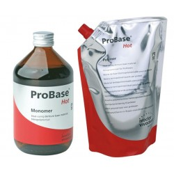 Kit Resina termopolimerizable Probase Hot C incoloro (5x500g+1 lt ) - Ivoclar Vivadent