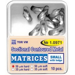 Matrices Seccionales De Metal TOR KIT 100 uds