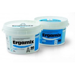 Silicona Duplicar ERGAMIX 90 5 KG + 5KG - LASCOD