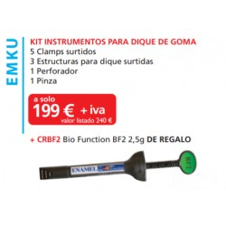 KIT CLAMP PARA DIQUE DE GOMA+ REGALO - MICERIUM