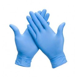 Guantes Nitrilo Azules 100 uds - YETPACK