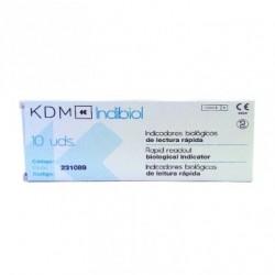 Indibiol Indicador Biológico Autoclave Caja 10 unidades - KDM