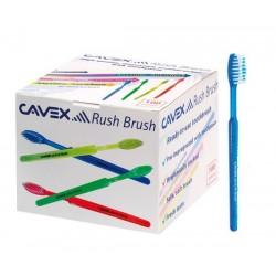 Cavex Rush Brush: Set Cepillos Desechables c/ gel incorporado (100 uds) - Cavex