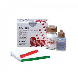 Fuji I: kit intro cemento de ionómero de vidrio (35 gr + 20 ml.) - Gc