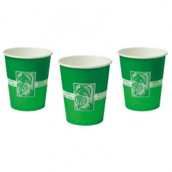 Vasos de papel (150 ml x 50 uds) - Larident