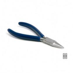 ALICATE PLANO 4 mm (ESTRECHO) 130 mm. PAKISTAN - TECHNOFLUX