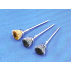 MiniCepillos Polirapid Pulir Metales Modelo 105 S08 Montados 12