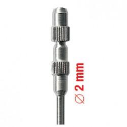 11007HP Mandril Pulidores oclusales Ø 2 mm 6 unid