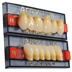 Tablilla Acry Lux V Dientes Inferiores