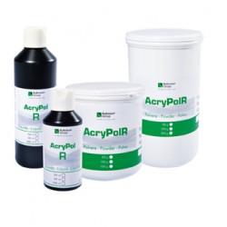 Resina Acrílica Acry Pol R Termopolimerizable Líquido 500 ml