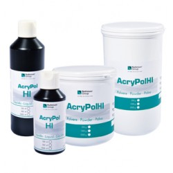Resina acrílica Acry Pol HI Termopolimerizable 500 ml