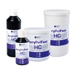 Resina Acrílica Acry Pol Fast HC Termopolimerizable Líquido 500