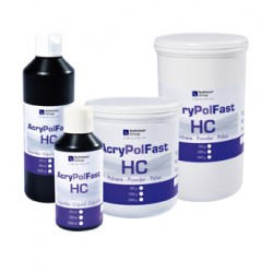 Resina Acrílica Acry Pol Fast HC Termopolimerizable polvo 1000 g