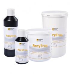 Resina Para Cubeta Individual Acry Tray Auto. Líquido 250 ml.