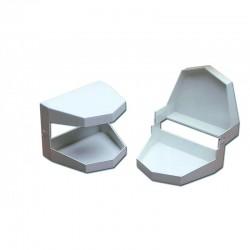Articulador Plástico Para Modelos De Ortodoncia Mestra R-010110