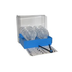 Kit Border-Lock Cubeta transparente para implantes Dentados Sup