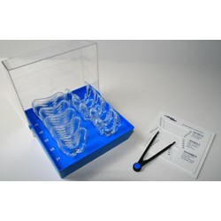 Kit Border-Lock Cubeta transparente de implantes Desdentados Sup