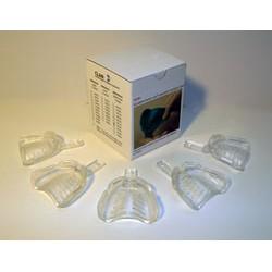 Border-Lock Cubeta transparente para implante Desdentados Sup.5u