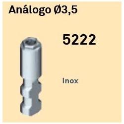 Análogo Héxagono Externo Ø 3,5