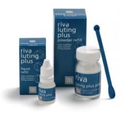 Riva Luting Plus Cemento de ionomero con resina Reposición Líqui