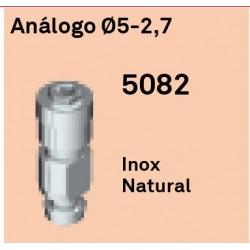 Análogo Héxagono Externo Ø 5-2.7