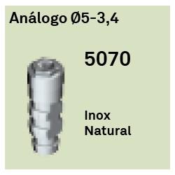 Análogo Héxagono Externo Ø 5-3.4
