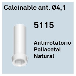 Calcinable Ant. Héxagono Externo Ø 4.1
