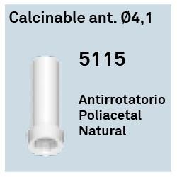Calcinable Ant. Héxagono Externo Ø 4.1